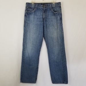 Calvin Klein Relaxed Straight Jeans 34/30